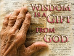 WISDOM is a Gift from GOD